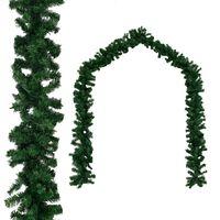 vidaXL Grinalda de Natal PVC 10 m