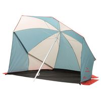 Easy Camp Guarda-sol abrigo de praia Coast cinzento e azul 120298