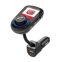 Adaptador Bluetooth para o carro - transmissor FM - carregador de carr