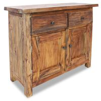 vidaXL Aparador em madeira reciclada maciça 75x30x65 cm