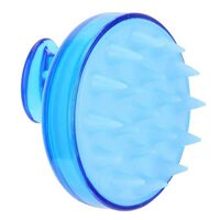 Escova Para Massagem E Peeling Do Couro Cabeludo Azul