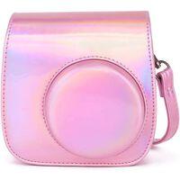 Bolsa para câmera para Instax Mini 9 - rosa