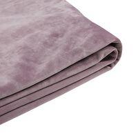Capa em veludo rosa para a cama 180x200 cm FITOU