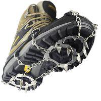 Proteção antiderrapante / espigões para sapatos com 18 dentes de aço p