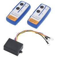 vidaXL Controlos remotos wireless para guincho 2 pcs com recetor