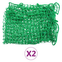 vidaXL Redes de reboque 2 pcs 2x3 m PP