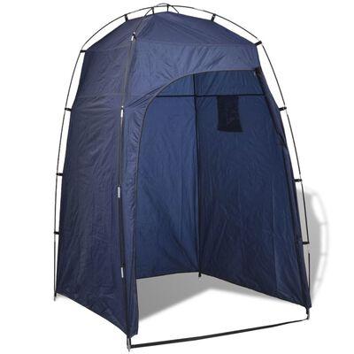 vidaXL Tenda WC/chuveiro/vestiário, azul