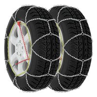 vidaXL Correntes de neve para pneus de carros 2 pcs 9 mm KN110