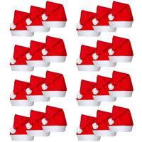 Conjunto 24 chapéus Pai Natal