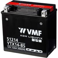 VMF Powersport Bateria Liquifix 12 V 12 Ah MF YTX14-BS