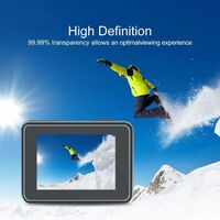 Kit de acessórios GoPro 5/6/7 Black - protetor de tela, tampa da lente