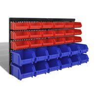 Kit prateleira de armazenamento de Parede 30 pç