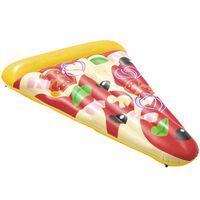 Bestway Bóia espreguiçadeira flutuante Pizza Party 188x130 cm
