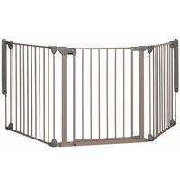 Safety 1st Barreira Modular 3 c/ 3 painéis cinzento 82-214 cm 24226580