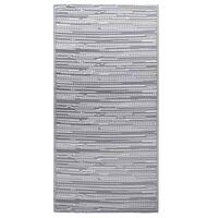 vidaXL Tapete de exterior 190x290 cm PP cinzento