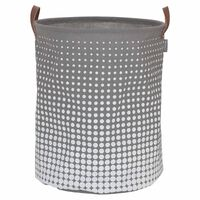 Sealskin Cesto para roupa suja Speckles cinzento 60L 361892012
