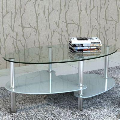 vidaXL Mesa de centro com design exclusivo, branco