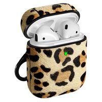 Caixa Airpods - Proteção À Prova De Choque - Padrão Leopardo
