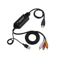 Conversor AV para HDMI - RCA / composto para HDMI