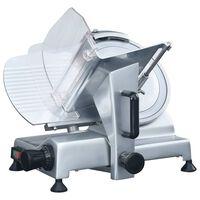 vidaXL Fatiador de carne elétrico profissional 250 mm