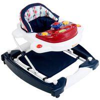 Baninni Andarilho bebé 2-em-1 Classic vermelho+azul escuro BNBW002-RRD