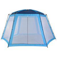 vidaXL Tenda para piscina 500x433x250 cm tecido cinzento