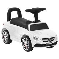 vidaXL Andador carro Mercedes Benz C63 branco