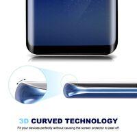 Protetor de tela para vidro temperado Samsung Galaxy Note 8 - preto