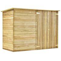 vidaXL Casa/abrigo 232x110x170 cm madeira de pinheiro impregnada