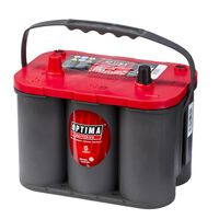 Optima bateria tampa vermelha 12 V 50 Ah RT S-4.2