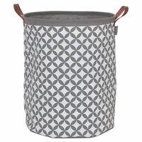 Sealskin Cesto para roupa suja Diamonds cinzento 60 L 362302012
