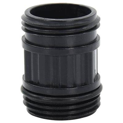 vidaXL Mangueira de sucção com conectores de PVC 4 m 22 mm verde