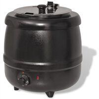 vidaXL Panela para a sopa elétrica 10 L