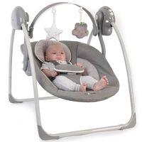Bo Jungle Baloiço de bebé B-Portable cinzento B700310