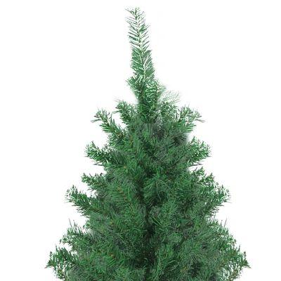 vidaXL Árvore de Natal artificial 300 cm verde
