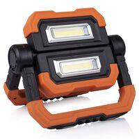 Lâmpada de trabalho LED Borboleta recarregável 1000lm