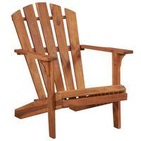 vidaXL Cadeira jardim Adirondack em madeira de acácia maciça