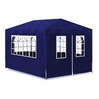 vidaXL Tenda para festas 3x4 m azul