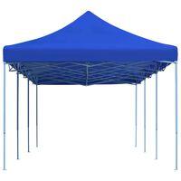 vidaXL Tenda para festas pop-up dobrável 3x9 m azul