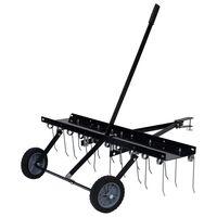 vidaXL Escarificador para cortador de relva 100 cm
