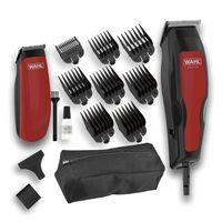 """Wahl Máquina cortar cabelo e aparador de 15 pçs """"Home Pro 100 Combo"""" 1395.0466"""