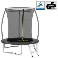vidaXL Conjunto de trampolim redondo 183x52 cm 80 kg