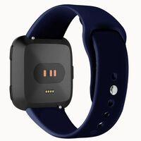 Pulseira de borracha Fitbit Versa - azul - S