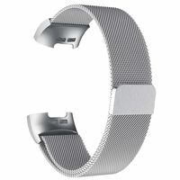 Pulseira Fitbit Charge 3 Milanese - prata - L