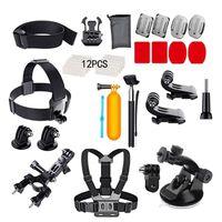 Kit de acessórios GoPro com 37 peças