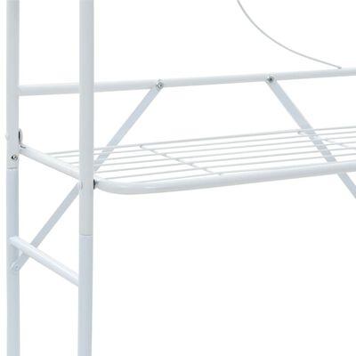 vidaXL Toalheiro branco 60x33x174 cm