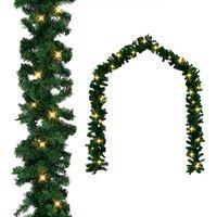 vidaXL Grinalda de Natal com luzes LED 20 m