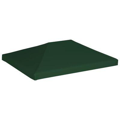 vidaXL Cobertura de gazebo 310 g/m² 4x3 m verde