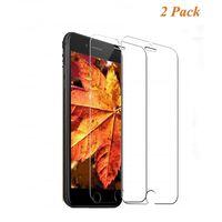 Protetor de tela para iPhone 8 - vidro temperado - pacote com 2 - tran