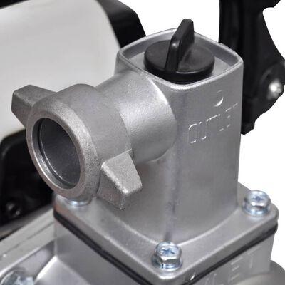 vidaXL Bomba de água motor a gasolina 2 tempos 1,2 kW 0,95 L
